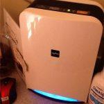 新しい空気清浄機の導入